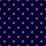 Nahtloses Muster mit Rettungsringen Stockfotografie
