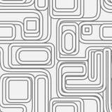Nahtloses Muster mit Rohren Lizenzfreies Stockbild