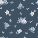Nahtloses Muster mit Rosen Stockbilder