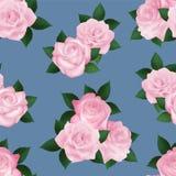 Nahtloses Muster mit Rosen Lizenzfreies Stockbild