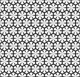 Nahtloses Muster mit sechseckigem Gitter. Lizenzfreies Stockbild