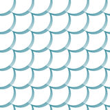 Nahtloses Muster mit Skalen Lizenzfreies Stockbild