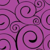 Nahtloses Muster mit Spirale Stockfotografie
