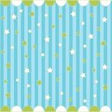 Nahtloses Muster mit Sternen Lizenzfreie Stockfotografie