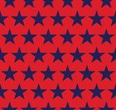 Nahtloses Muster mit Sternen Stockbild
