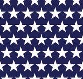 Nahtloses Muster mit Sternen Stockfotografie