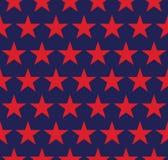 Nahtloses Muster mit Sternen Lizenzfreie Stockfotos