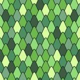 Nahtloses Muster mit stilisierten Skalen. Stockbild