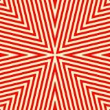 Nahtloses Muster mit symmetrischer geometrischer Verzierung Lizenzfreie Stockfotos