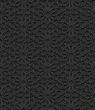 Nahtloses Muster mit traditioneller Verzierung Stockfotos