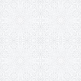 Nahtloses Muster mit traditioneller Verzierung Stockbild