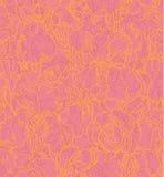 Nahtloses Muster mit umrissenen Blenden Stockfotos