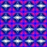 Nahtloses Muster mit Weinleseelementen Stockbilder