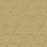 Nahtloses Muster mit Wellen. Stockfoto