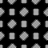 Nahtloses Muster mit zerstreuten Fragmenten des Gitters Passend f?r Gewebe, Verpackung, Hintergrund Auch im corel abgehobenen Bet vektor abbildung