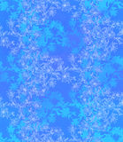 Nahtloses Muster mit Zichorie Rundes Kaleidoskop von Blumen und von Florenelementen Stockbild