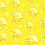 Nahtloses Muster mit Zitrusfrucht der frischen Frucht Lizenzfreie Stockfotos