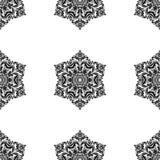 Nahtloses Muster Orientes entziehen Sie Hintergrund Stockfotos