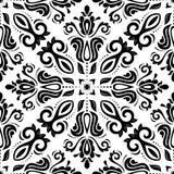 Nahtloses Muster Orientes entziehen Sie Hintergrund Lizenzfreies Stockbild