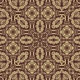 Nahtloses Muster Orientes entziehen Sie Hintergrund Stockbild