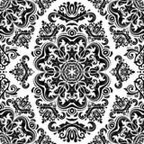 Nahtloses Muster Orientes entziehen Sie Hintergrund Lizenzfreie Stockbilder