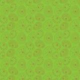 Nahtloses Muster Ostern auf grünem Hintergrund Stockfoto