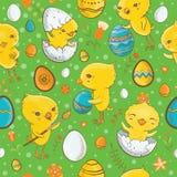 Nahtloses Muster Ostern mit Küken