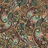 Nahtloses Muster Paisleys Stockbilder