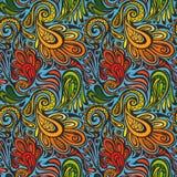 Nahtloses Muster Paisleys Stockfotografie