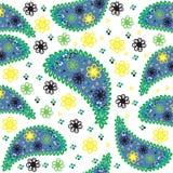 Nahtloses Muster Paisleys. Nahtloses Muster kann sein  Stockbilder
