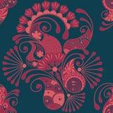 Nahtloses Muster Paisleys Stockbild