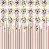 Nahtloses Muster, Polkapunkttapete Stockbild
