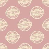 Nahtloses Muster Rotterdams Stockfoto