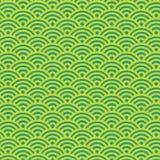 Nahtloses Muster Sashiko mit traditioneller japanischer Stickerei, Illustration Stockfotografie