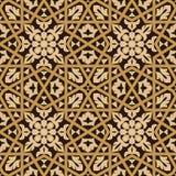 Nahtloses Muster sechs Taza Lizenzfreie Stockfotografie
