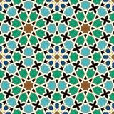Nahtloses Muster sieben Arihah Stockbild