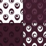 Nahtloses Muster Stellen Sie farbigen geometrischen Hintergrund ein lizenzfreie abbildung