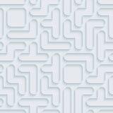 Nahtloses Muster Tetriss Lizenzfreies Stockbild