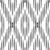 Nahtloses Muster Vektor Ikat Ethnische Verzierung vektor abbildung
