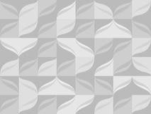 Nahtloses Muster vom Grau deckt Hintergrund mit Ziegeln Stockfotografie
