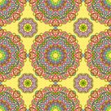 Nahtloses Muster von den abstrakten Elementen vektor abbildung