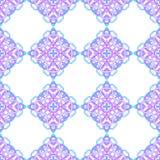 Nahtloses Muster von den abstrakten Elementen Lizenzfreie Stockbilder