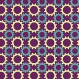 Nahtloses Muster von den mehrfarbigen Gängen Stock Abbildung