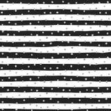 Nahtloses Muster von gelegentlichen silbernen Punkten Lizenzfreie Stockfotografie