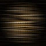Nahtloses Muster von metallischen Streifen in der Orange, im Gold und im Braun Stockfotos