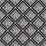 Nahtloses Muster von Quadraten innerhalb einer anderen Form lizenzfreie abbildung