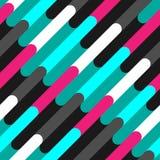Nahtloses Muster von schönen Farblinien Lizenzfreie Stockbilder