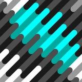 Nahtloses Muster von schönen Farblinien Stockfotografie