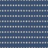 Nahtloses Muster von silbernen Streifen Lizenzfreie Stockfotografie