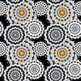 Nahtloses Muster Weinleseelement-Vektorillustration Lizenzfreie Stockfotografie